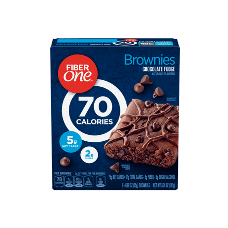 Chocolate Fudge 70 Calorie Brownie