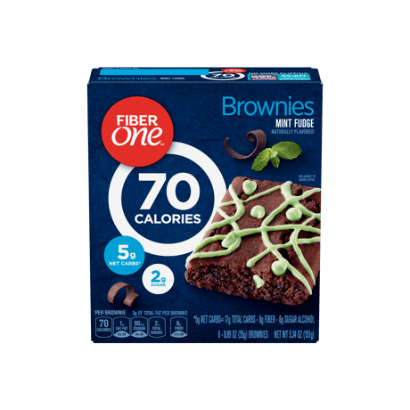 Mint Fudge 70 Cal Brownie