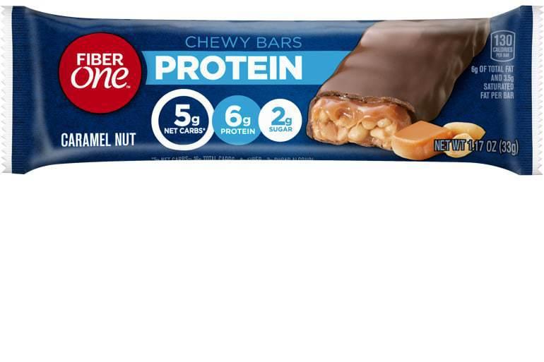 Caramel Nut Protein Bar Individual