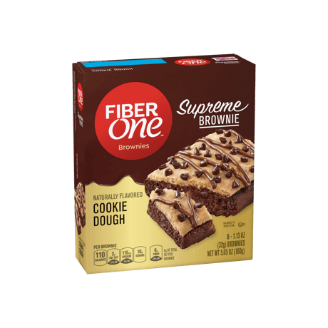 Supreme Brownie Cookie Dough Packaging